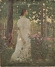 Jacob Wagner, Woman in White in a Garden