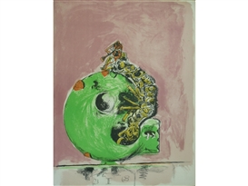Artwork by Graham Sutherland, EMERGING INSECT (Tassi 103), Made of Lithograph