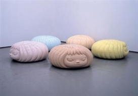 Yoshitomo Nara, 5 works: The Mini Puff Marshies