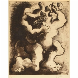 Jacques Lipchitz, THESEUS AND THE MINOTAUR