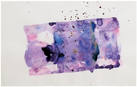 Artwork by Sam Francis, Untitled (SF76-175), Made of acrylic on paper
