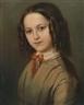 Anton Romako, Childhood Portrait of Melanie Deinhardstein