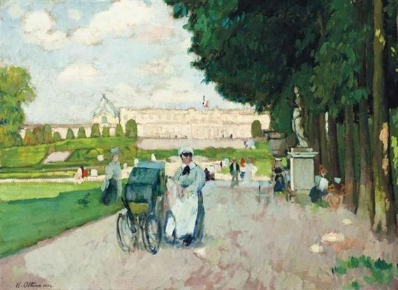 Artworks of henri ottmann french 1877 1927 for Art du jardin zbinden sa