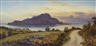 Donald A Paton, SUNDOWN: HOLY ISLAND FROM ABOVE LAMLASH