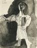 Pablo Picasso, FEMME DEBOUT