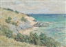 Clark Voorhees, Coastal Scene with Bluffs, Probably Bermuda
