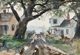 Artwork by John Whorf, North East, Made of Watercolor on paper/board