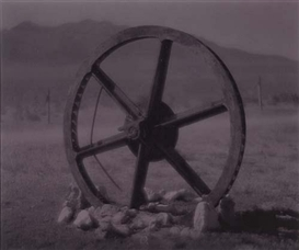 Artwork by Linda Connor, Wagon wheel, Made of Toned silver print