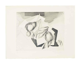 Artwork by Jacques Villon, Nature Morte aux Noix (Arts et Métiers Graphiques 323), Made of etching