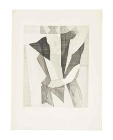 Artwork by Jacques Villon, Homme Lisant (Arts et Métiers Graphiques 325), Made of etching