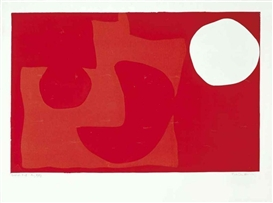 Artwork by Patrick Heron, Untitled, Made of screenprint