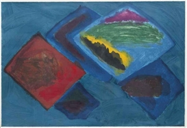 Artwork by John Hoyland, Trade Winds (III), Made of wove paper