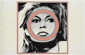 Artwork by Gerald Laing, Brigitte Bardot, Made of screenprint
