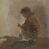 Louis Comfort Tiffany, Study of a Young Boy