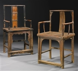 UNTITLED (PAIR OF CHAIRS)