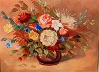 Floral still life By Reynold Weidenaar