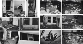 Artwork by Christopher Wool, 13 Works: Incident on 9th Street, Made of gelatin silver prints