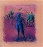 Bernard Dreyfus, Figures in a Landscape