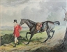 Alfred Smith, 'Equestrian Portrait With Huntsman'