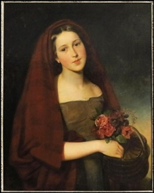 Artwork by Sir John Everett Millais, PORTRAIT, Made of Oil on canvas