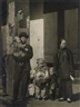 Arnold Genthe, 2 Works: Family group, Chinatown, San Francisco & Asian child holding the hand of an adult, San Francisco