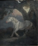 G. Morland, Grey Cob sheltering in a Storm
