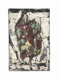 Artwork by Jean-Paul Riopelle, Untitled, Made of oil on canvas
