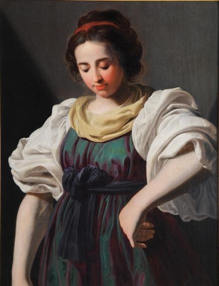 Gentileschi Artemisia   Portrait of a young Woman   MutualArt