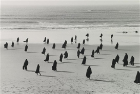 Artwork by Shirin Neshat, UNTITLED (RAPTURE SERIES), Made of gelatin silver print