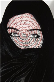 Artwork by Shirin Neshat, I Am Its Secret, Made of c-print