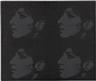 Deborah Kass, Four Black Barbaras (Jewish Jackie Series)