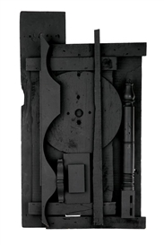 Artwork by Louise Nevelson, Stargate, Made of Painted wood