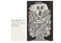 Artwork by Jean Dubuffet, 5 works: La Fleur de Barbe (portfolio), Made of lithographs