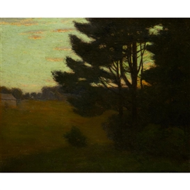 Charles Warren Eaton, Evening Shadows