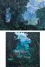 I Gusti Agung Wiranata, 2 works: Angon Bebek; Bali Life