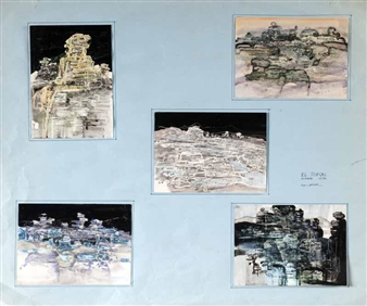 5 works: EL TORCAL By George Campbell ,1973