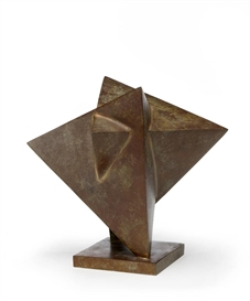Artwork by Jacques Schnier, Star of David, Made of Bronze