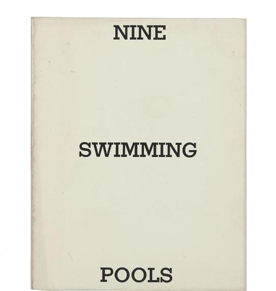 Ruscha Ed Nine Swimming Pools And A Broken Glass 1968 Mutualart