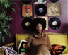 Mickalene Thomas, Afro Goddess Lover's Friend
