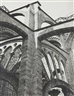Charles Sheeler, Chartres-Flying Buttresses at the Crossing
