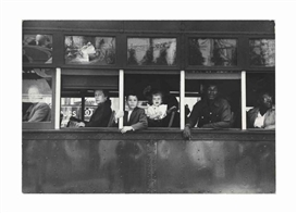 Robert Frank, Trolley - New Orleans