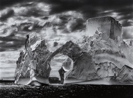 Artwork by Sebastião Salgado, Iceberg Between the Paulet Islands and the Shetland Islands, Antarctica, Made of Gelatin silver print