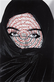 Artwork by Shirin Neshat, I am Its Secret, Made of Fujicolor Crystal Archive print