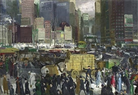 George Bellows (1882-1925): Modern American Life at Royal Academy of Arts