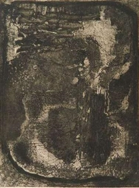 Artwork by Louise Nevelson, Untitled in, Made of etching and aquatint