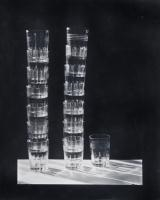 Artwork by Emmanuel Sougez, Les verres, Made of Gelatin silver print