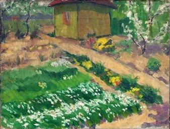 Balwé Arnold Garten Mit Laube 1950 Mutualart