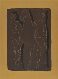 Marino Marini, Composition