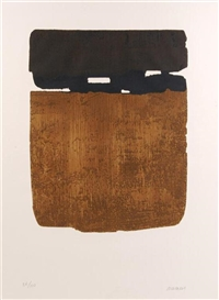 Artwork by Pierre Soulages, Untitled, Made of etching and aquatint