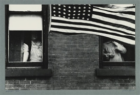 Artwork by Robert Frank, HOBOKEN, Made of photograph